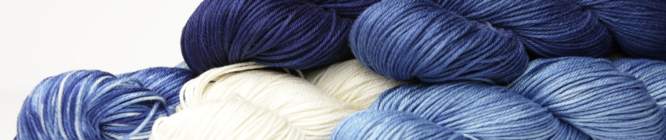 Indigo-dyed yarn