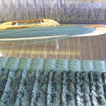 Weaving large-scale corduroy