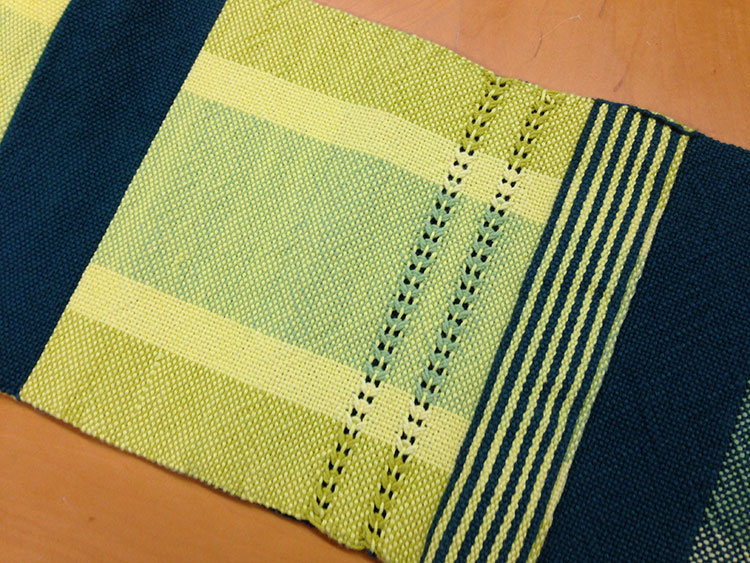 Doubleweave sample